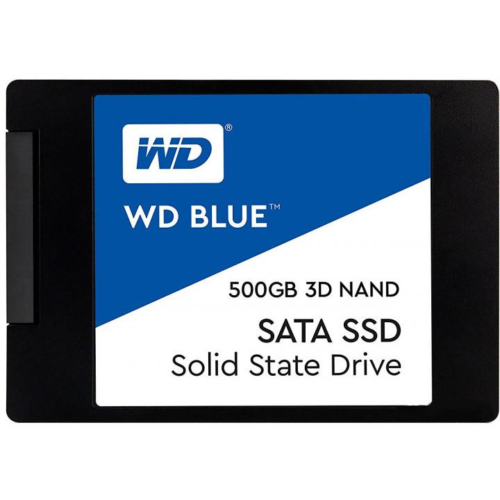 Твердотельный накопитель Western Digital 500Gb WDS500G2B0A Выгодный набор + серт. 200Р!!!