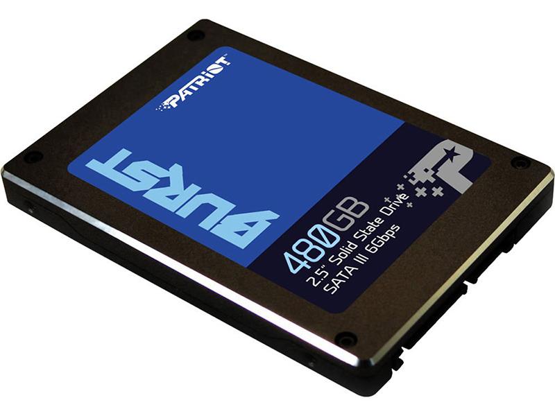 Твердотельный накопитель Patriot Memory Burst 480Gb PBU480GS25SSDR Выгодный набор + серт. 200Р!!!