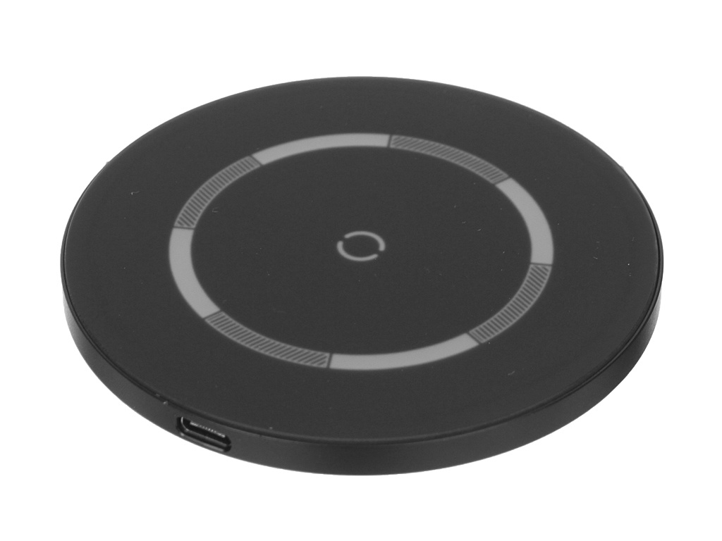 Зарядное устройство Baseus Simple Magnetic Wireless Charger IP12 Black WXJK-E01