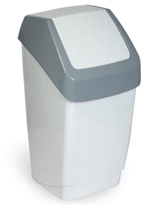 Мусорное ведро IDEA (М-Пластика) Хапс М 2471, 15 л мусорный контейнер 15 л с подвесной крышкой idea хапс м 2471 мрамор