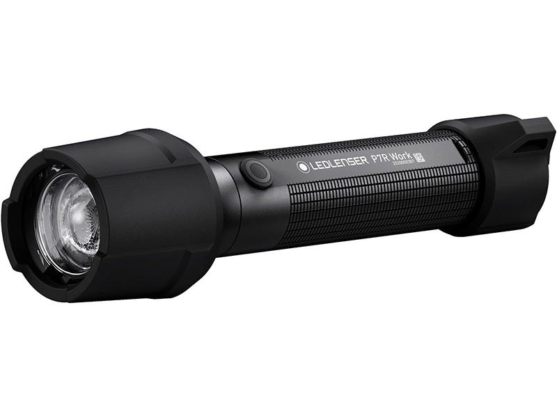 Фонарь LED Lenser P7R Work 502187 ручной фонарь led lenser p7r core черный коричневый
