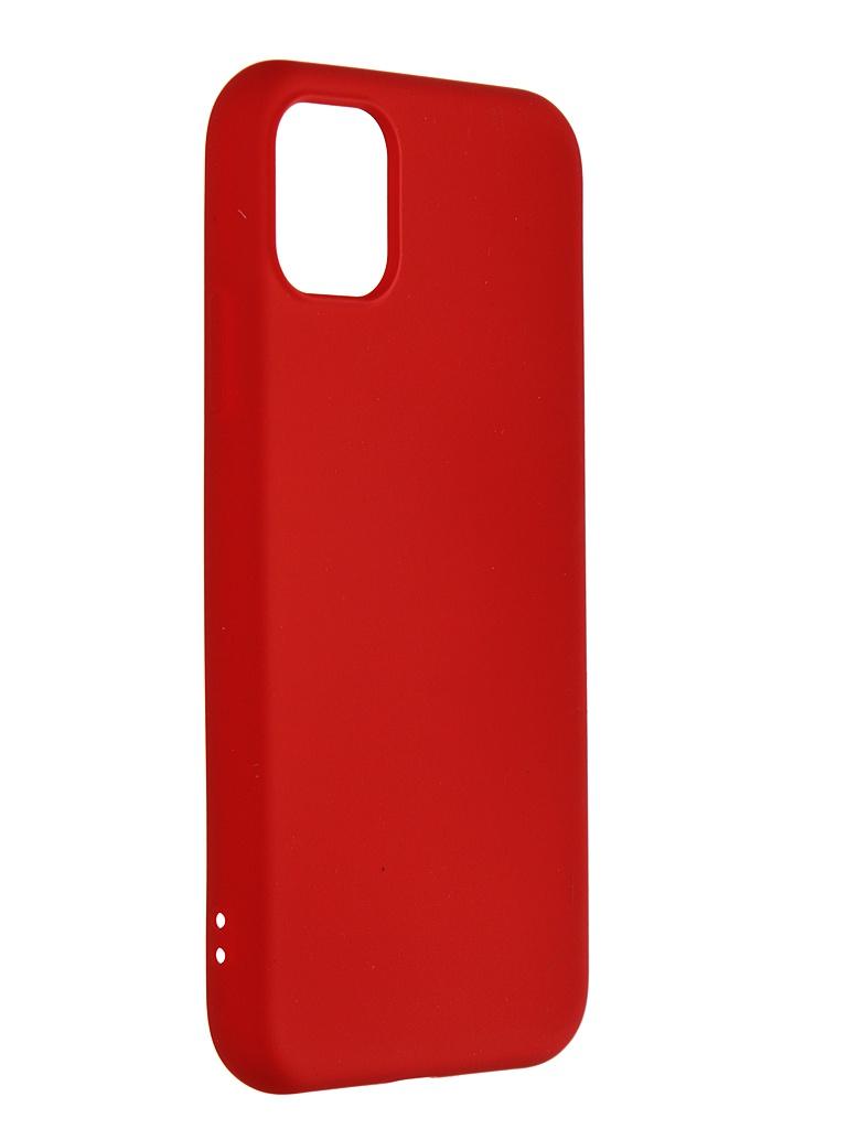 Чехол mObility для APPLE iPhone 11 Soft Touch Red УТ000020649