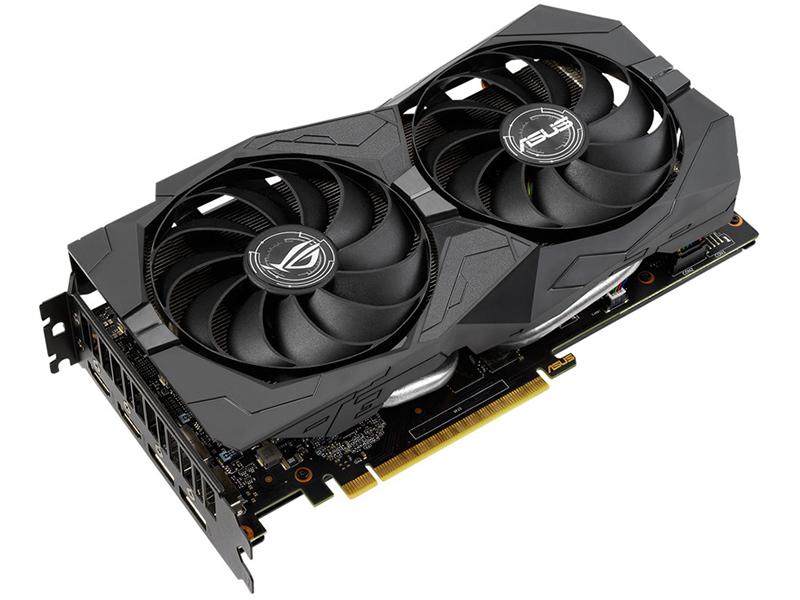 Видеокарта ASUS ROG Strix GeForce GTX 1660 Super 1530Mhz PCI-E 6144Mb 14000Mhz 192 bit 2xDP 2xHDMI HDCP ROG-STRIX-GTX1660S-6G-GAMING