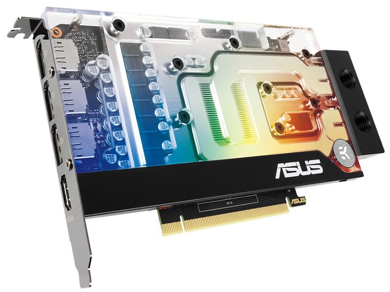 Видеокарта ASUS EKWB GeForce RTX 3070 1500Mhz PCI-E 6144Mb 14000Mhz 256 bit HDMI DP RTX3070-8G-EK