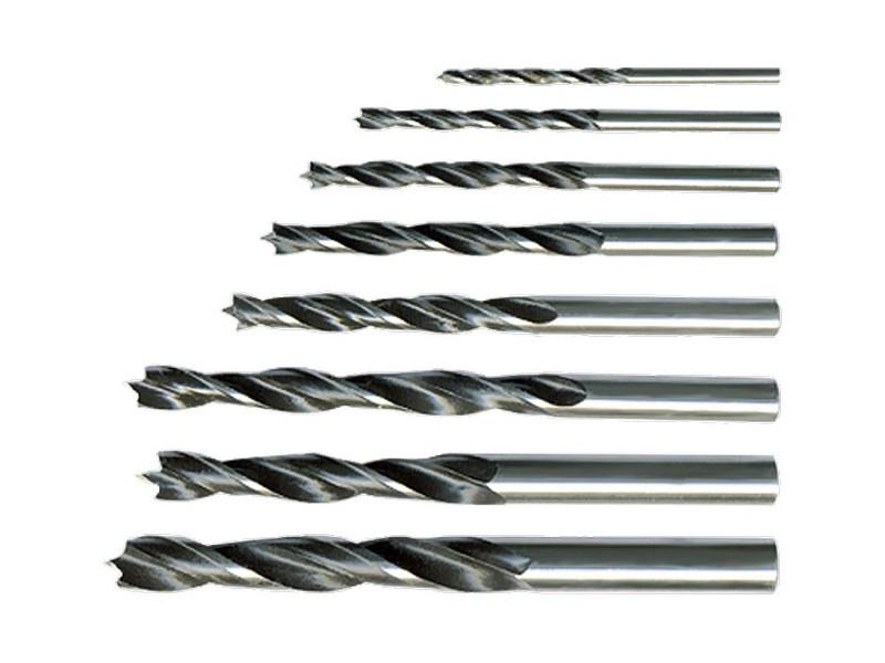 Набор сверл Sparta по дереву 3-4-5-6-7-8-9-10mm 8шт 702125