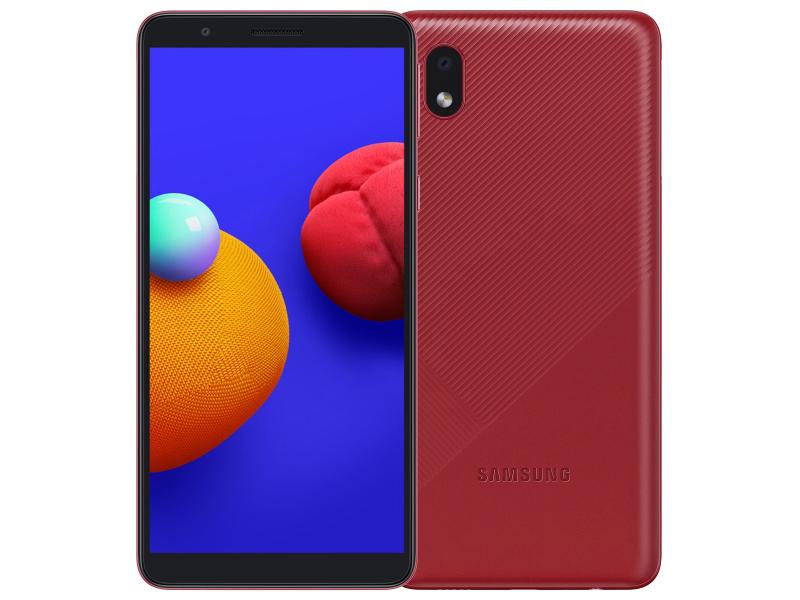 Сотовый телефон Samsung SM-A013F Galaxy A01 Core 1/16Gb Red New Выгодный набор + серт. 200Р!!!