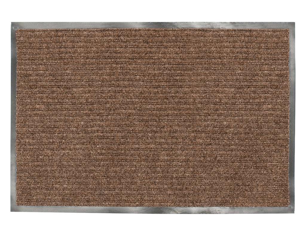 Коврик Лайма 90x120cm ребристый Brown 602873