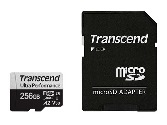 Фото - Карта памяти 256Gb - Transcend MicroSDXC 340S Class 10 UHS-I U3 V30 A2 TS256GUSD340S с адаптером SD карта памяти kingston canvas go plus microsdxc uhs i u3 v30 a2 128gb с адаптером