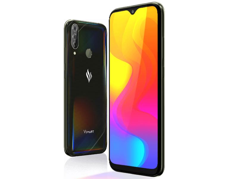 Сотовый телефон Vsmart Joy 3+ 4Gb/64Gb Black Onyx