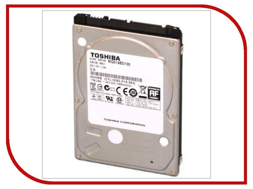Жесткий диск 1Tb - Toshiba MQ01ABD100<br>