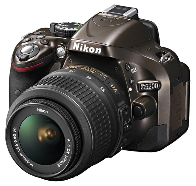 Фотоаппарат Nikon D5200 Kit AF-S DX 18-55 mm f/3.5-5.6G VR Bronze<br>