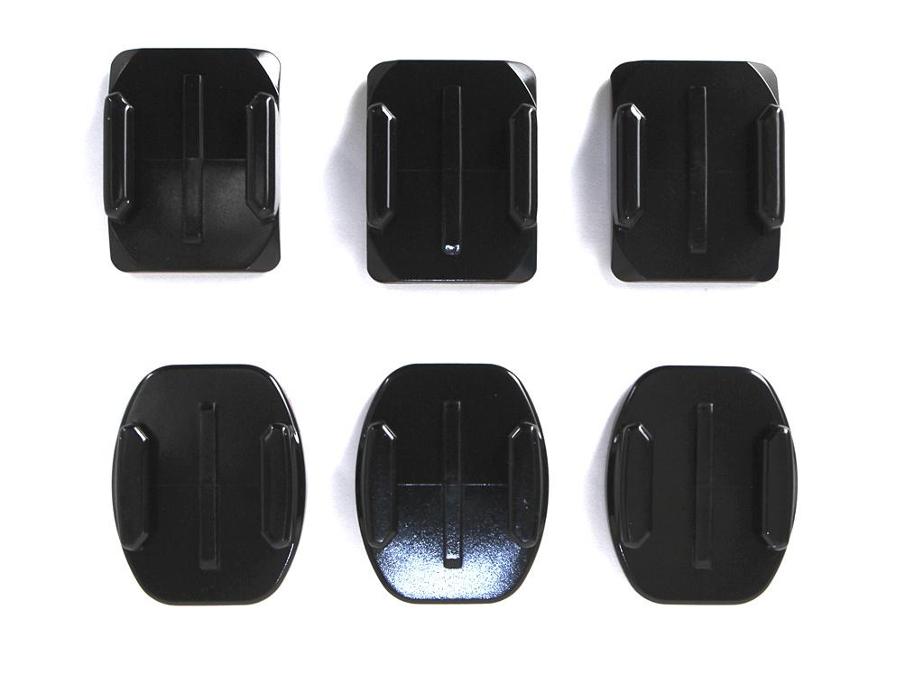 Аксессуар GoPro Flat + Curved Adhesive Mounts AACFT-001