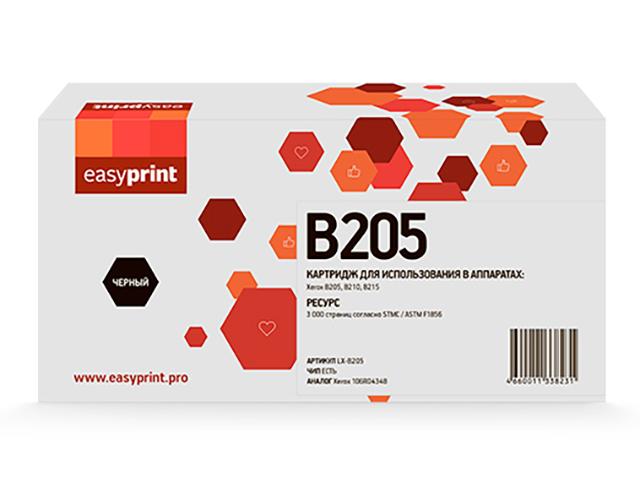 Картридж EasyPrint LX-B205 Black для Xerox B205/B210/B215