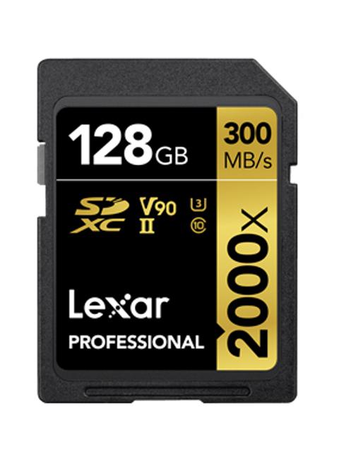 Карта памяти 128Gb - Lexar Professional SDHC/SDXC UHS-II Card LSD2000128G-BNNNG