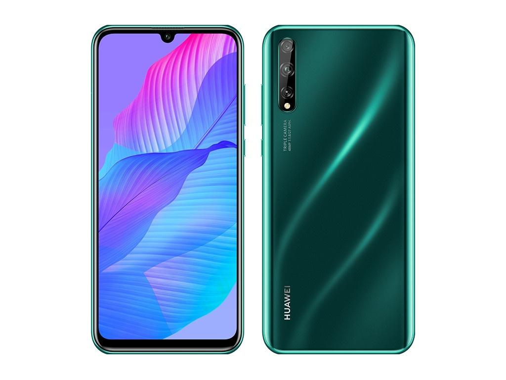 Сотовый телефон Huawei Y8p 4/128Gb Crush Green Выгодный набор + серт. 200Р!!!
