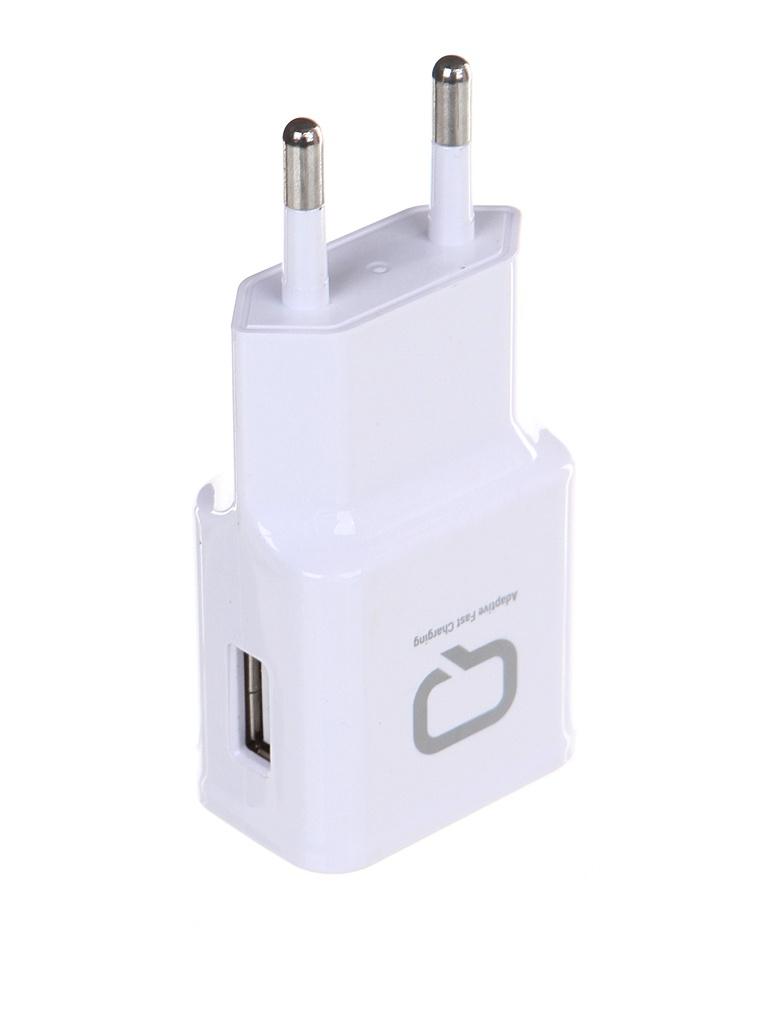 Зарядное устройство Qumo Energy QC 3.0 USB White 21845
