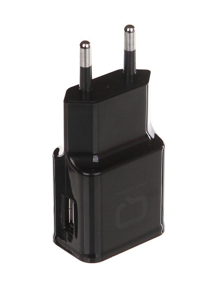 Зарядное устройство Qumo Energy QC 3.0 USB Black 23765