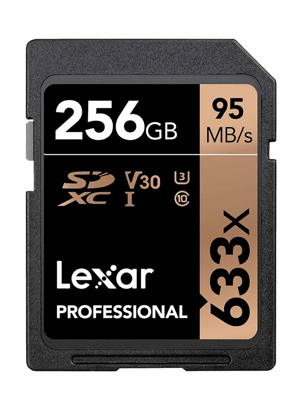 Карта памяти 256Gb - Lexar Professional SDXC UHS-I LSD256CB633