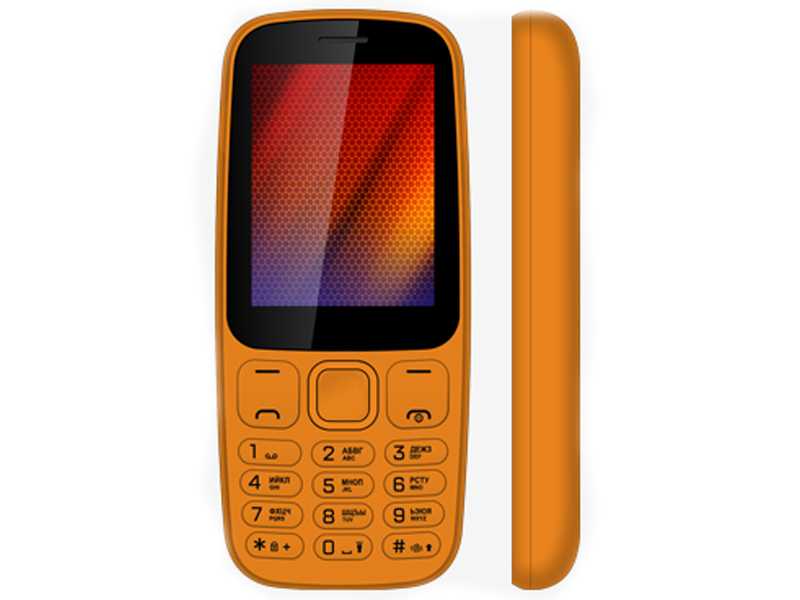 Сотовый телефон Vertex D537 Orange