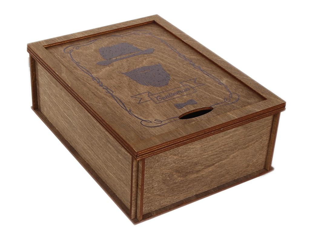 Коробка подарочная Wonder Wood Для мужчины №4 WW88-4