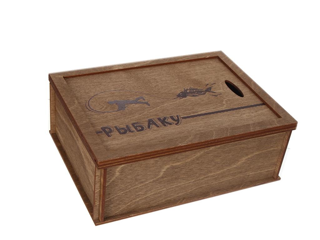 Коробка подарочная Wonder Wood Для рыбака WW87