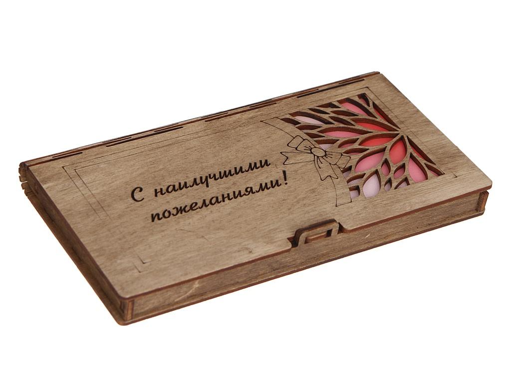 Конверт подарочный Wonder Wood С наилучшими пожеланиями 3 WWGFENVWISHES/3