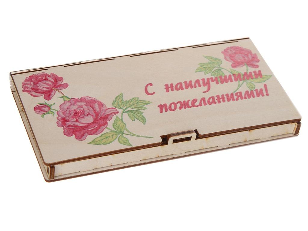 Конверт подарочный Wonder Wood С наилучшими пожеланиями 2 WWGFENVWISHES/2