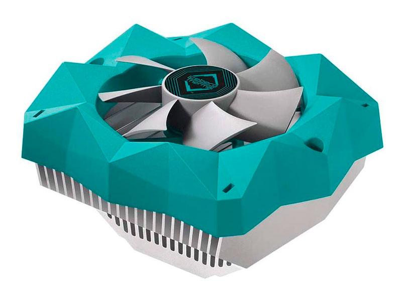 Кулер Iceberg IceFloe T95 Extrusion Aluminum Heatsink CPU Cooler With 92mm (Intel LGA 1200/115X/1366/775 / AMD AM4/AM3+/AM2+/FM2+/FM1)