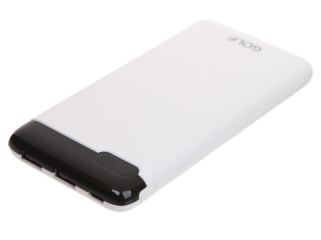 Внешний аккумулятор Golf Edgee LCD21 10000mAh White
