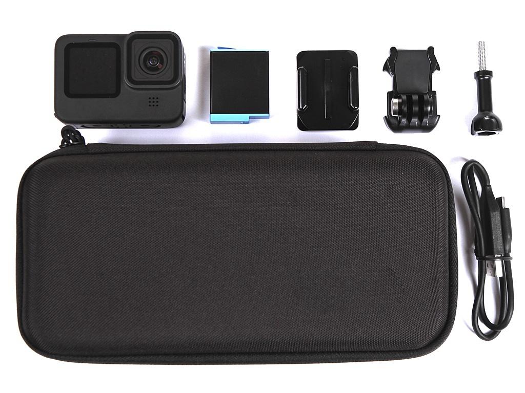 Экшн-камера GoPro Hero 9 Black Edition CHDHX-901-RW Выгодный набор + серт. 200Р!!! экшн камера gopro hero 6 черный