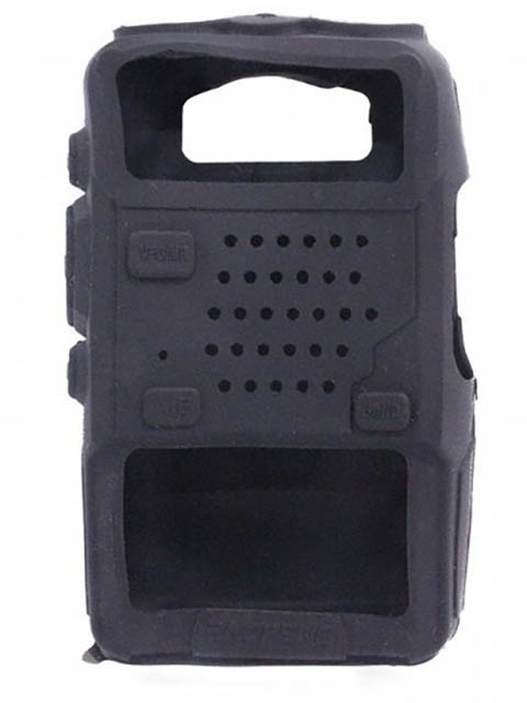 Чехол Baofeng для UV-5R Silicone Black 14860