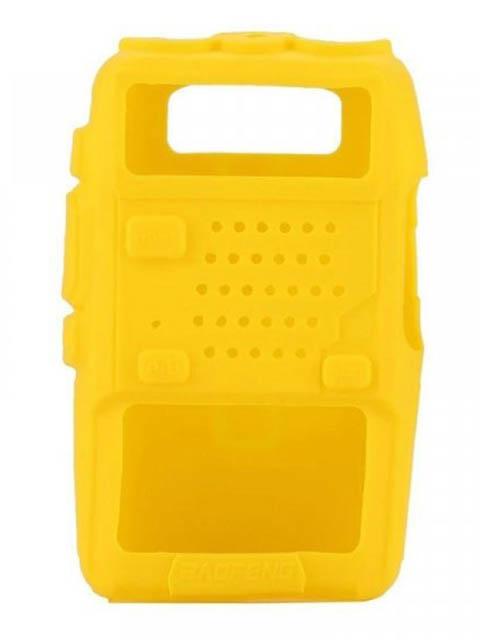 Чехол Baofeng для UV-5R Silicone Yellow 14860