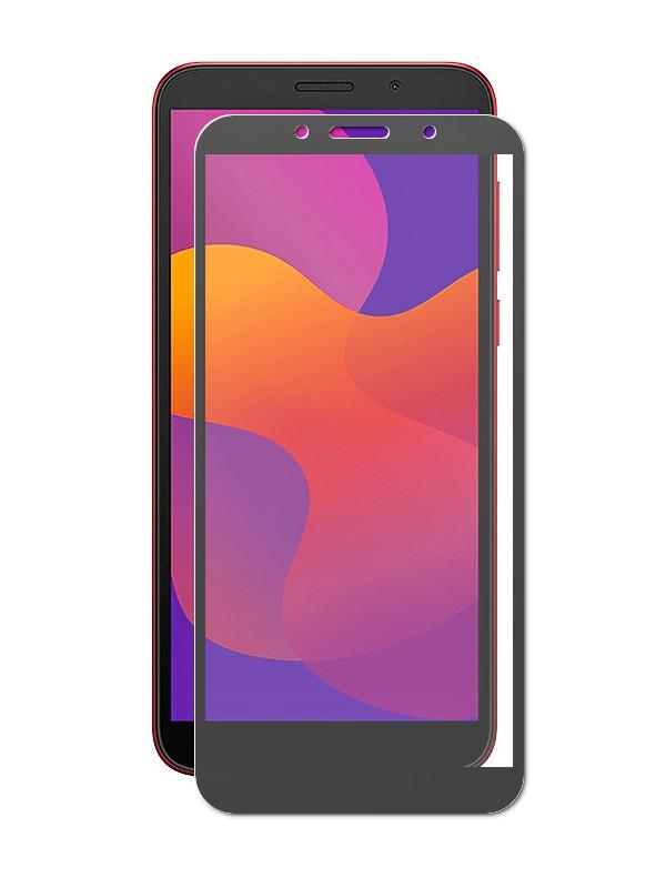 Защитное стекло Akami для Honor 9S / Huawei Y5P Full Screen Glue Black 6921001706804