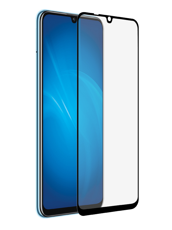 Защитное стекло Akami для Huawei Y8P Full Screen Glue Black 6921001609204