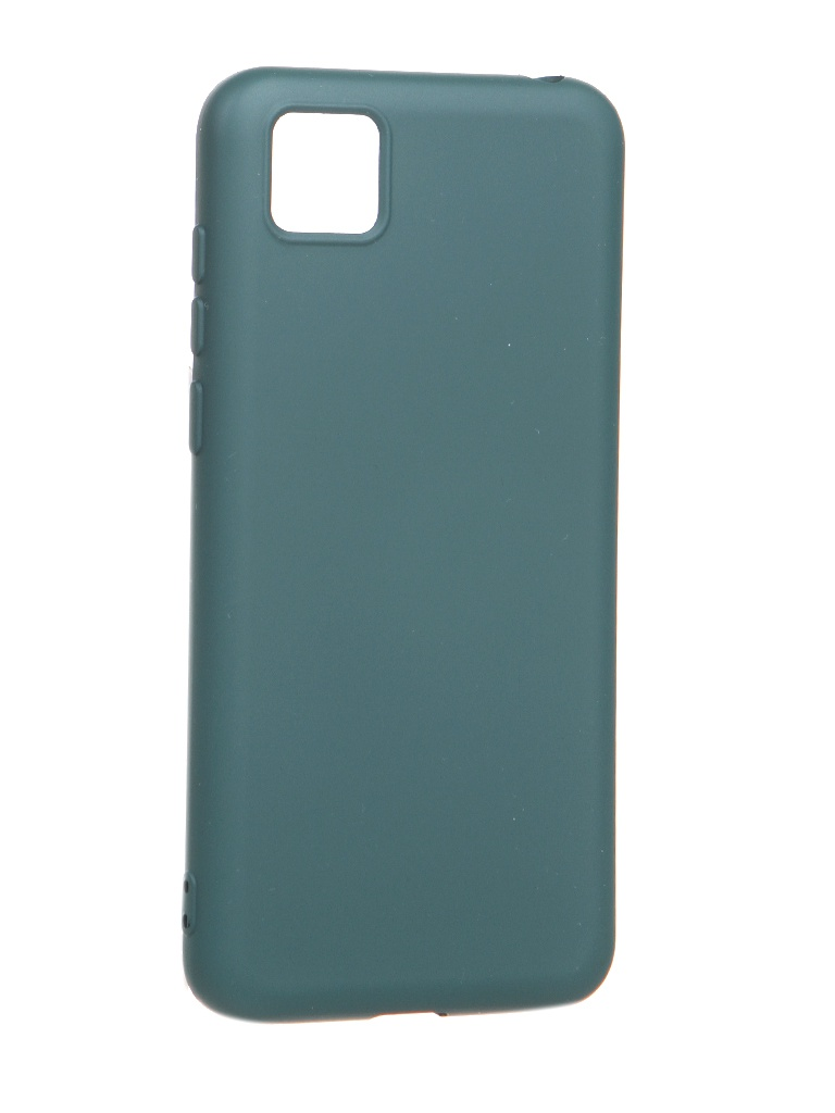 Чехол Akami для Honor 9s / Huawei Y5p Charm Silicone Green 6921001623101