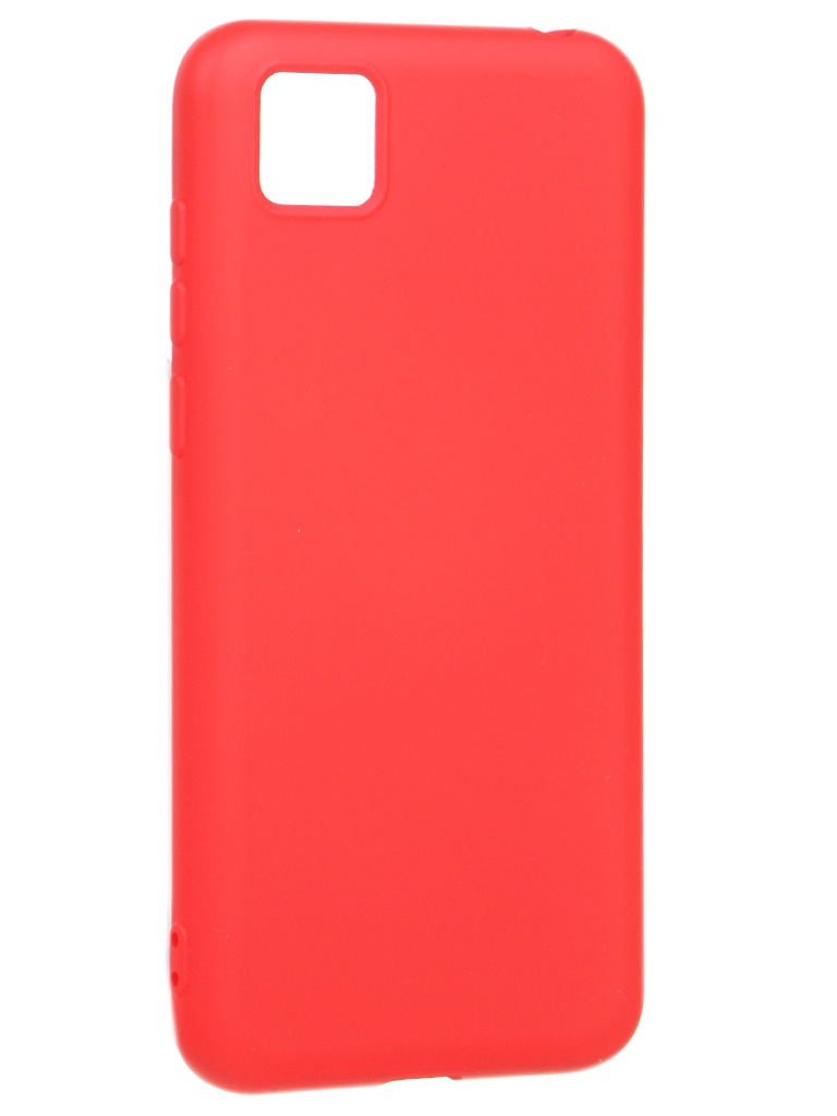 Чехол Akami для Honor 9s / Huawei Y5p Charm Silicone Red 6921001622807