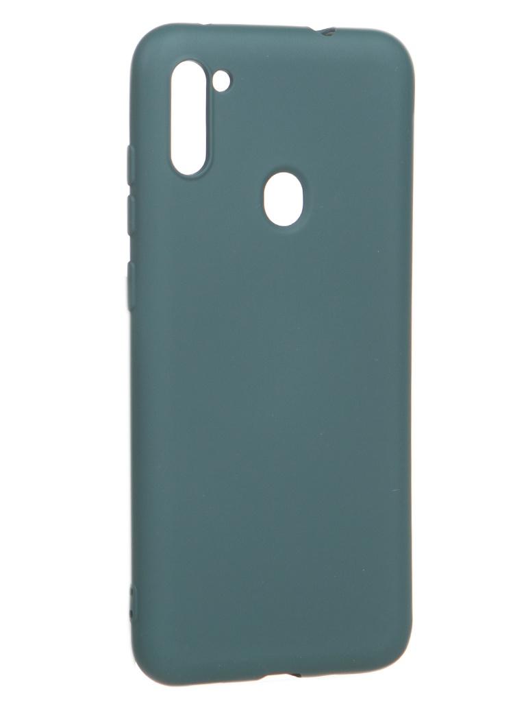 Чехол Akami для Samsung Galaxy A11 / M11 Charm Silicone Green 6921001744202