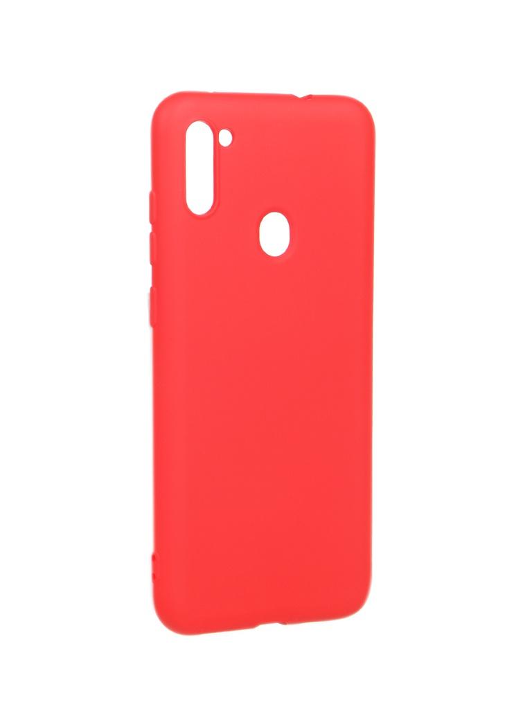 Чехол Akami для Samsung Galaxy A11 / M11 Charm Silicone Red 6921001744509