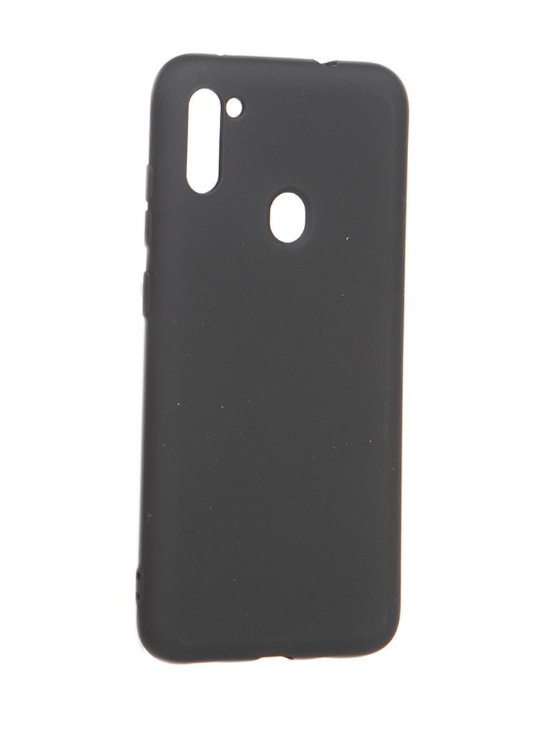 Чехол Akami для Samsung Galaxy A11 / M11 Charm Silicone Black 6921001745100