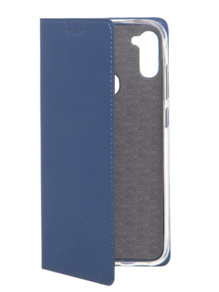 Чехол Akami для Samsung Galaxy A11 / M11 Book Case Series Blue 6921001746305