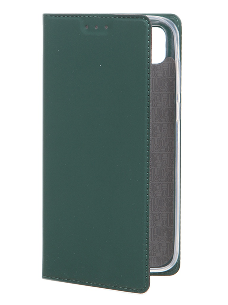 Чехол Akami для Honor 9S / Huawei Y5p Book Case Series Green 6921001604902