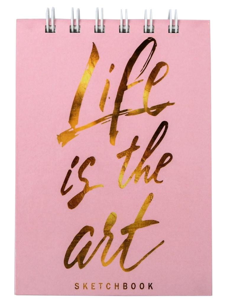 Скетчбук ArtFox Life is The Art А6 80 листов 4947758