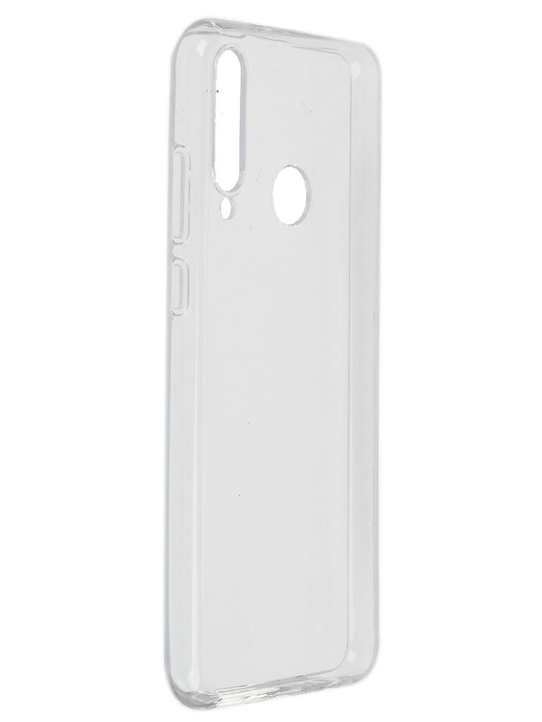 Чехол Akami для Huawei Y6p Clear Silicone Transparent 6921001606708