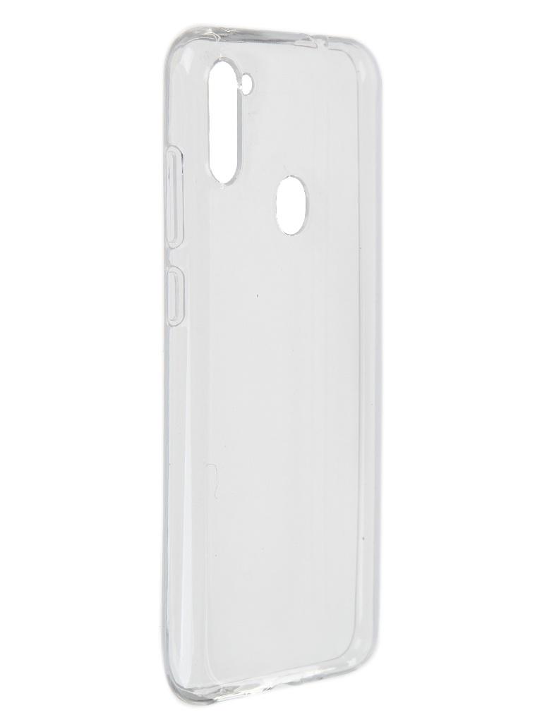 Чехол Akami для Samsung Galaxy A11 / M11 Clear Silicone Transparent 6921001740501