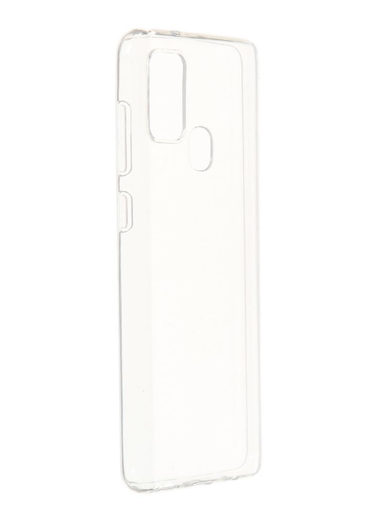 Чехол Akami для Samsung Galaxy A21s Clear Silicone Transparent 6921001683808