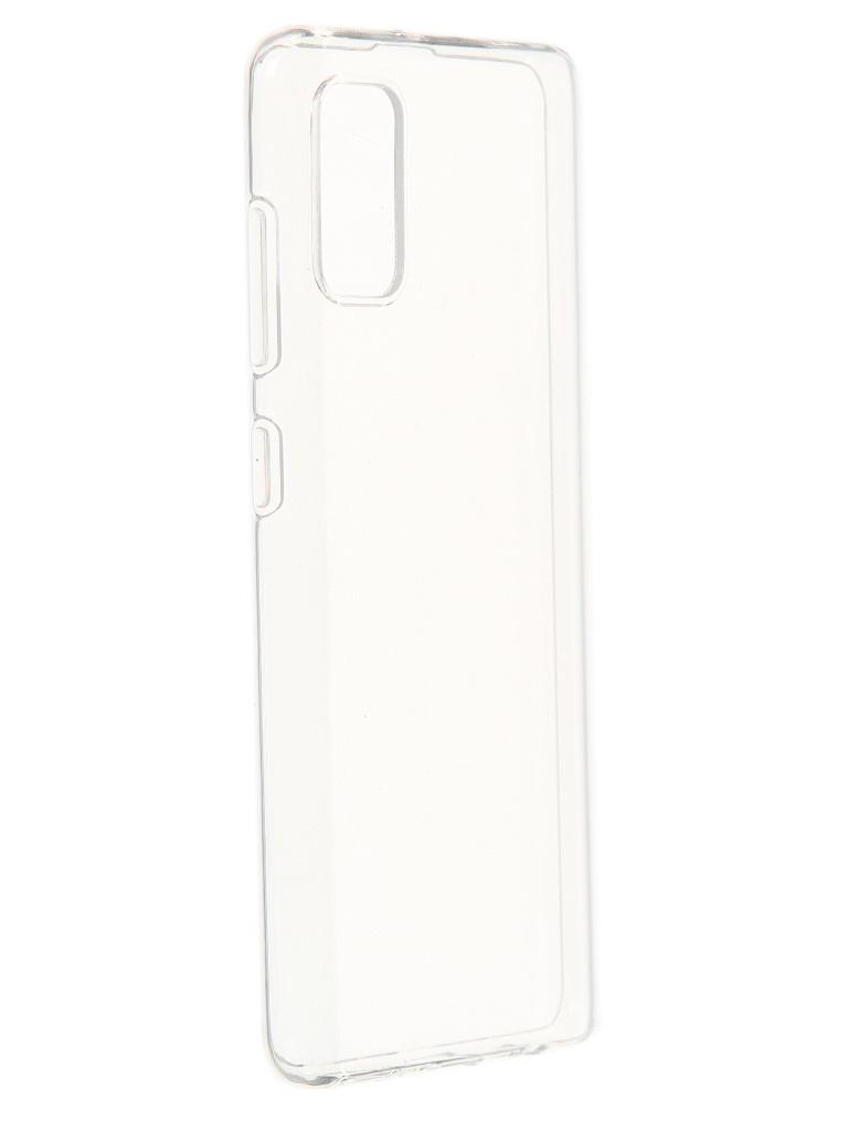 Чехол Akami для Samsung Galaxy A41 Clear Silicone Transparent 6921001435605