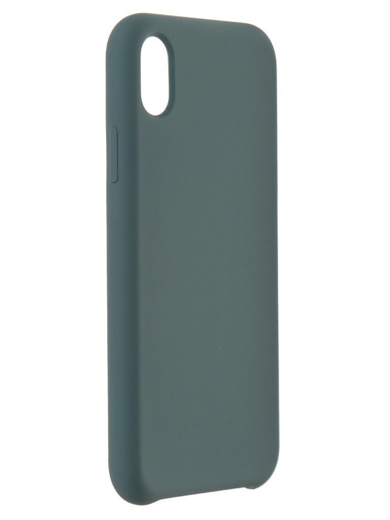 Чехол Akami для APPLE iPhone XR Mallows Silicone Green 6921001173408
