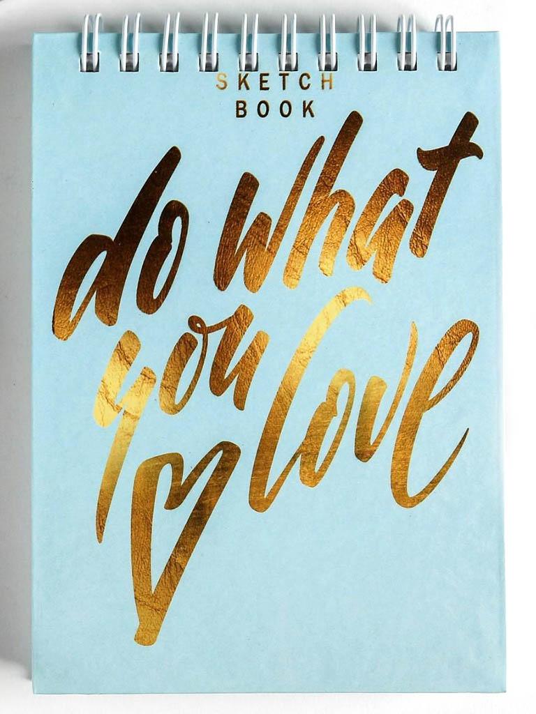 Скетчбук ArtFox Do What You Love А6 80 листов 4947750