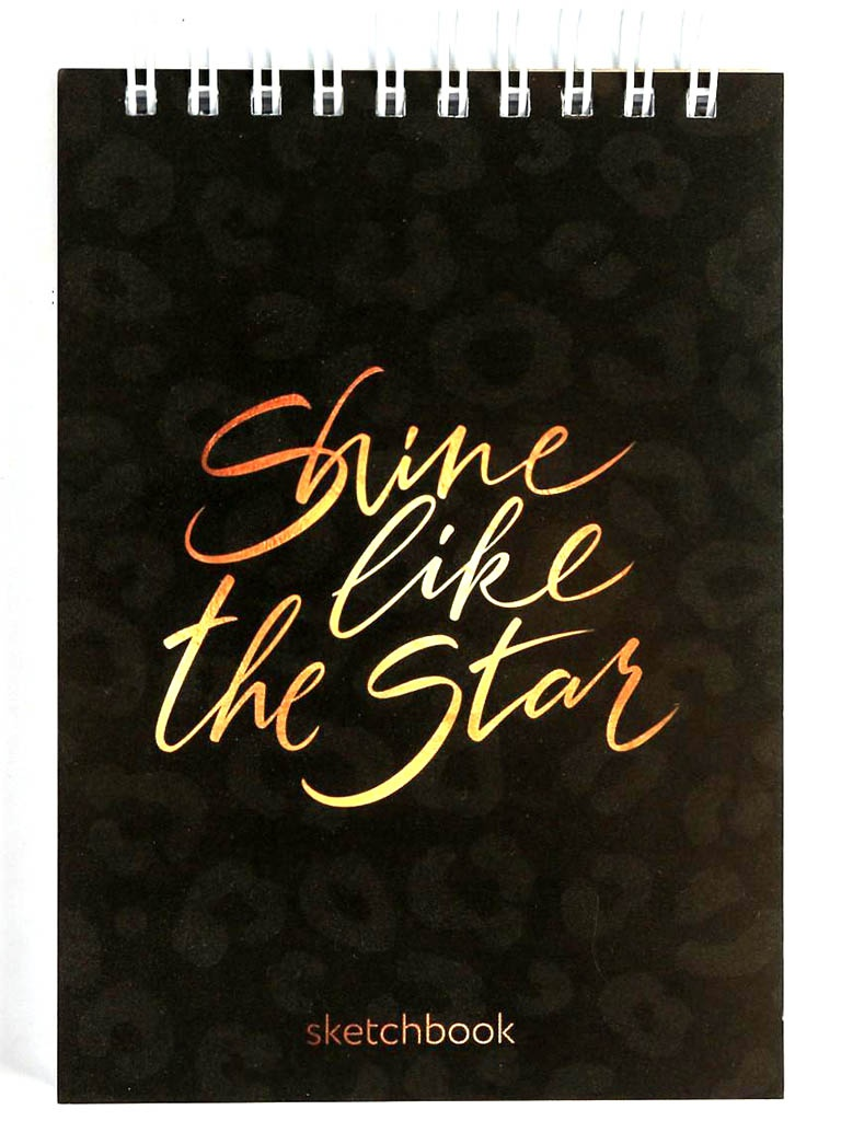 Скетчбук ArtFox Shine Like the Star А6 80 листов 4864094