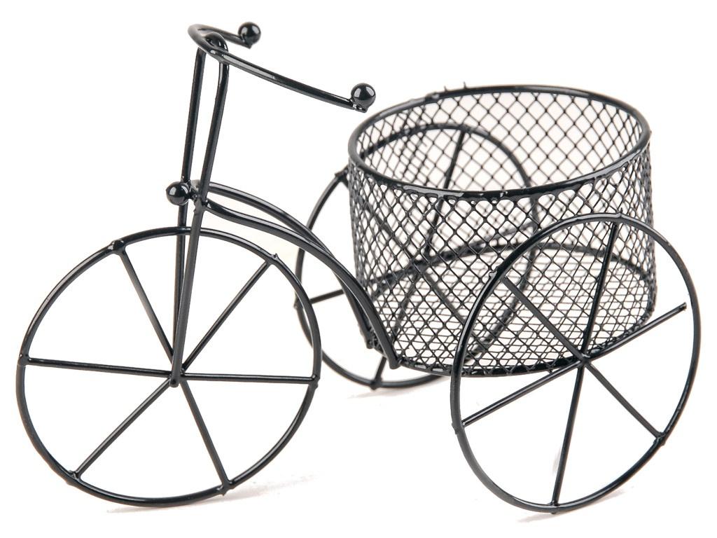 Кашпо Доляна Велосипед 18x10x13cm 4597727